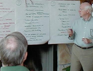 Mike Facilitating A Strategic Planning Session