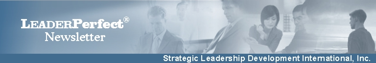 Strategic Leadership Development (SLDI) Banner -- LeaderPerfect Resources and Solutions