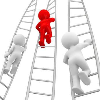 Climbing the management ladder