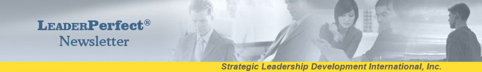 LeaderPerfect Newsletter Banner
